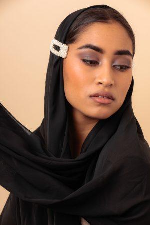 black hijab essential