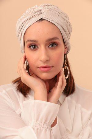 turban color nude
