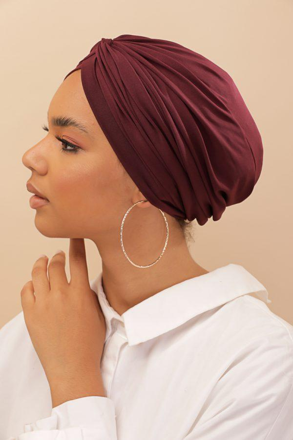 red turban every day wear