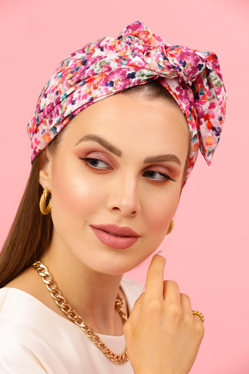 printed cotton turban